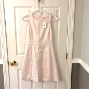 J.CREW a-line dress NWT blush pink 0